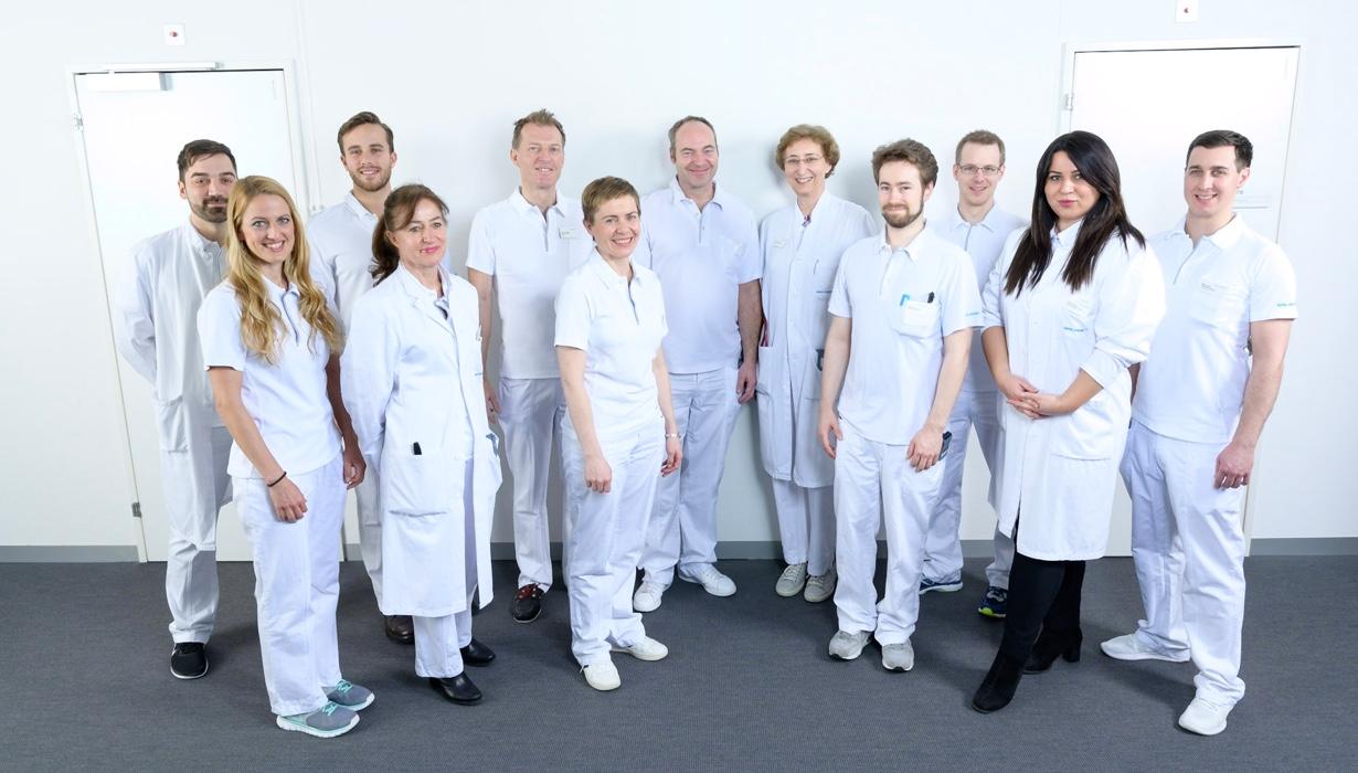 Motiviertes Team im Zentrum für Innere Medizin